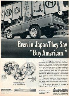 1970 Datsun Pickup Trucks Advertising Hot Rod Magazine ...