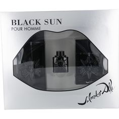 Launched by the design house of Salvador Dali in 2007, BLACK SUN by Salvador Dali for Men posesses a blend of: basil absolute, Woody, vetiver, cedar leaf, black incense, minty green rose, geranium, tonka bean, clary sage, vanilla It is recommended for evening wear.