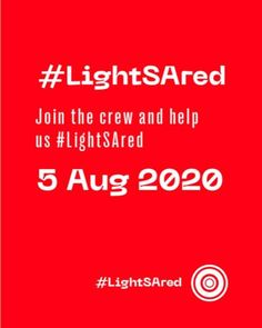 The Events Industry is Dying!  5 AUG 2020 5 Months with no work. 5 Months of being ignored by our government.  Join the protest as we light buildings in red to raise awareness of our plight.  To sign up and form more information visit: www.LightSAred.org.za  #LightSAred #sightandsound #capetown #events #5august #joinus #5months #fivemonths