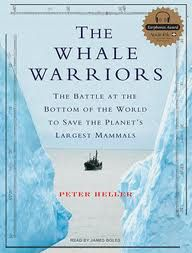 The Whale Warriors: The Battle at the Bottom of the World to Save the Planet's Largest Mammals by Peter Heller. Fascinating story about The Sea Shepherd Conservation Society, a group often accused of being too radical. Request it from Eisenhower http://swanencore.mls.lib.il.us/iii/encore/record/C|Rb2594094|Sthe+whale+warriors|P0,2|Orightresult|X5?lang=eng=def.