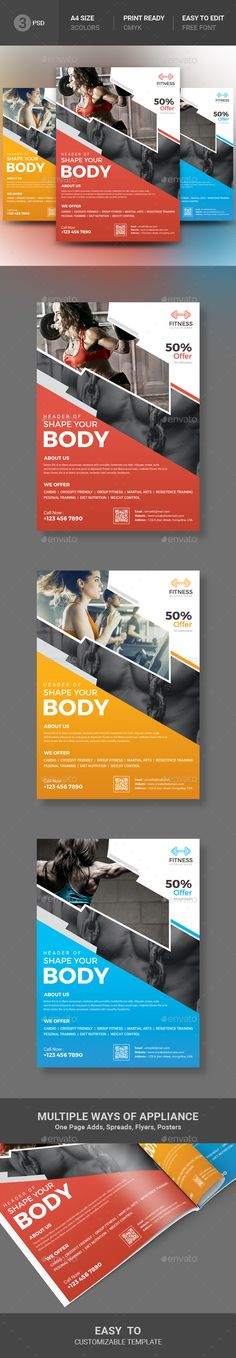 Fitness Flyer by artBeta File Information This File open is programs (cs3, cs4, cs5, cs5.5, cs6, cc, cc ), it's item minimum adobe photoshop cs3 open and a
