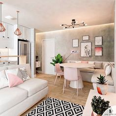 Neon Decoration: environments to inspire the decoration of the house - Home Fashion Trend Interior Design Living Room, Living Room Designs, Living Room Decor, Cozy House, Home Decor Inspiration, Decor Ideas, Room Ideas, Apartment Living, Home And Living