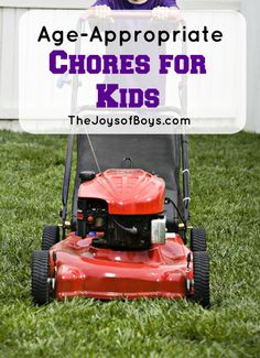 As parents, it is our job to teach our children to become successful adults. Doing chores does just that! Teach your kids responsibility with this list of Age-Appropriate Chores for Kids!