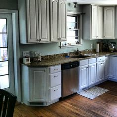 New Kitchen Color~Sea Salt~Sherwin Williams