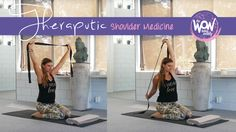 Week 25: Shoulder medicine - A 30min stretch/therapeutic class for your shoulders (if you've had an injury this is fine once the inflammation has settled). It's like drinking the best healing elixir you can find :-)