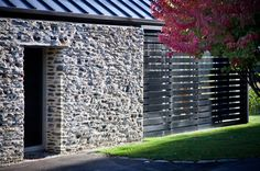 Stonework at Queenstown House by