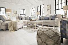 American Design Furniture By Monroe Corolla Living Set 4