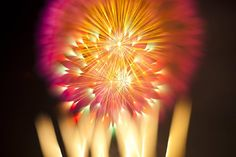 David Johnson - long exposure firework photography - but does it float