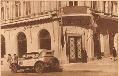 Gambrinusul lui Caragiale, 1913 Old Photographs, Old Photos, My Town, Timeline Photos, Time Travel, Amen, Taj Mahal, Buildings, Nostalgia