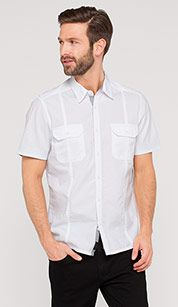 9€ C&A Camisa sencilla en blanco