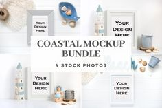 DETAILS This listing is for a set of 4 styled mockup stock photo which you can use to showcase your artwork, use it on your blog/website or in your email marketing.Files are high resolution (300 DPI). I N S T A N T - D O W N L O A D Branding Materials, Marketing Materials, Nursery Frames, Picture Stand, Empty Frames, Coir Doormat, Sell On Etsy, Email Marketing, Framed Wall Art