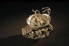 fine and sterling silver vessal. image: Michael Silver
