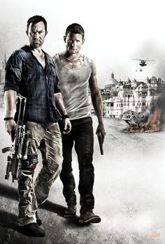 Sullivan Stapleton & Philip Winchester, in 'Strike Back'