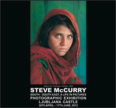 Steve McCurry in Ljubljana