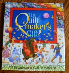 A perfect book for Valentine's Day. It teaches love, kindness, generosity. The Quiltmaker's Gift with activities on Creative Connections for Kids