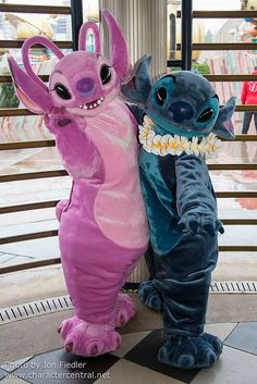 DLP Feb 2013 ~ Stitch and Angel
