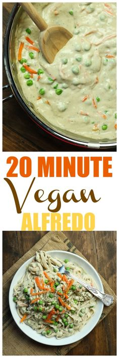 The ultimate Vegan Alfredo that will blow away all your guests, shock them that it is dairy-free and takes just 20 minutes to make. Rich, creamy, decadent and just 8 ingredients and without any butter or oil!