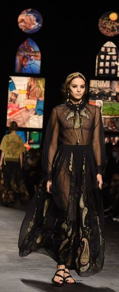 Christian Dior Couture, Goth, Victorian, Dresses, Fashion, Pink Sundress, Tulle, Black, Gothic