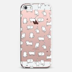 Cute cats. Doodle hand drawn kittens - iPhone SE Case by @kostolom3000 | @casetify