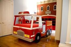 Mini Nursery Tour: Buffalo Firestation Bedroom | Apartment Therapy