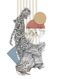 mixed techniques by kalina juzwiak (@bykaju) Illustration, Pattern, Art, Art Background, Illustrations, Kunst, Gcse Art, Model, Patterns