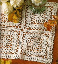 crochet em revista: Toalha ou toalhinha?