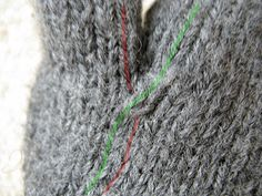Crossing Stitches on Knit gloves to avoid holes between the fingers. Also good at tip of a V-neck and when you place an isolated cable motif that has a start and stop (instead of being a straight column all the way up and down).