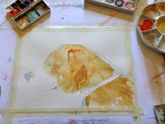 Marissa paints watercolors and more....: Rory - Beagle portrait demo
