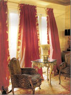 Ann Holden & Ann Dupuy; Mary Tait window treatments; Via Cote de Texas