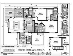 Find a Home Blown In Insulation, Fiberglass Insulation, Modular Home Plans, Modular Homes, Mobile Home Floor Plans, House Floor Plans, Dutch Lap Siding, Le Ranch, Vinyl Floor Covering