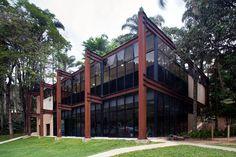 Galeria de Vestiário Clube Campestre / João Diniz Arquitetura - 8