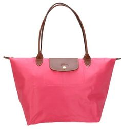medium longchamp pliage rouge sacs fourre-tout