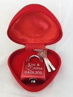 Remmo&Love Elegantes Liebesschloss + Geschenk: Amazon.de: Elektronik