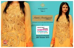 #betheredelhi  Smriti Jhunjhunwala is an exclusive clothing brand which produces elegant and stylish indo- western wear for women. Now look fashionable and sexy on every occasion be it a Saturday night or a Sunday Brunch- they have it all at reasonable prices! Happy Shopping @ #serendipitytake6 on 28th October'15 at Vasant Continental Smriti Jhunjhunwala