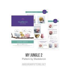 My Jungle 2 amigurumi minta - Amigurumipatterns.net