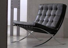 /barcelona-chair-Bauhaus furniture