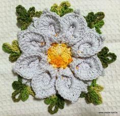 Flor margarida bicuda passo a passo - www.croche.com (50)