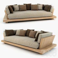Home Furniture Couches Diy Sofa Ideas Sofa Furniture, Pallet Furniture, Furniture Design, System Furniture, Furniture Plans, Furniture Stores, Cheap Furniture, Modern Wood Furniture, Pallet Sofa