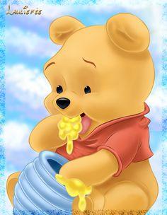 Winnie the pooh by Laurine-Tellier.deviantart.com