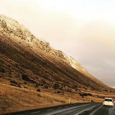 #iceland #road #roadtrip #travelling #car #landscape
