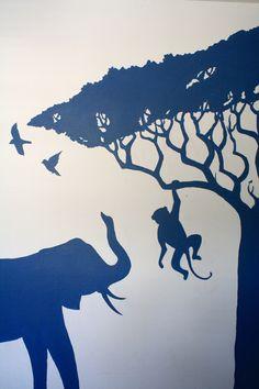 Wallflower Mural Works: Africa Mural #3