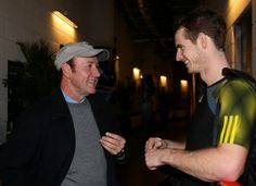 Andy Murray Hangs With Kevin Spacey