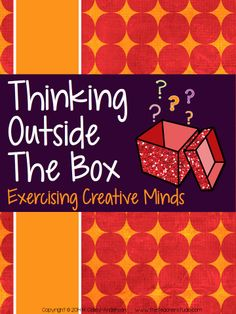 """If you are like me, you believe that if we prepare our students to be creative thinkers, and team players and pair that with quality instruction--the high level learning will fall into place. This resource helps you squeeze a little """"creativity instruction"""" into your packed day! Whether you use these as warm ups, team builders, center activities, or exercises for fast finishers, this has everything ready for you to print and use! $"""