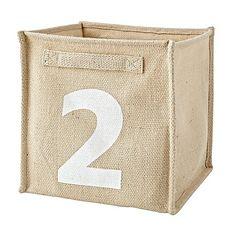 Alphanumeric 2/B Cube Bin