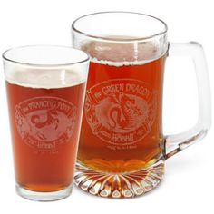 it comes in Pints! etched with Green Dragon or Prancing Pony logos...but it's always sold out...ahhhhh