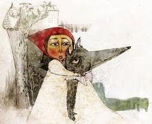Riding / Riding Hood / Cappuccetto / Chapeuzinho / ...  illustrated