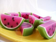 Watermelon Soap Favors