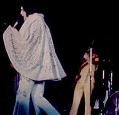 Elvis in concert in Mobile in june 20 1973.