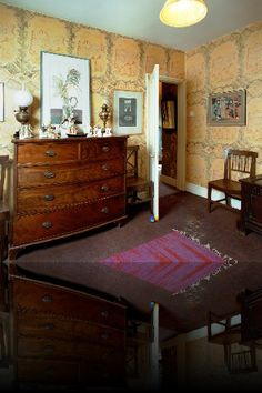 Edward Bawden's home in Saffron Walden, Essex. Photography: Roy Hammans
