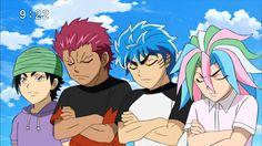 toriko 4 heavenly kings - Google Search